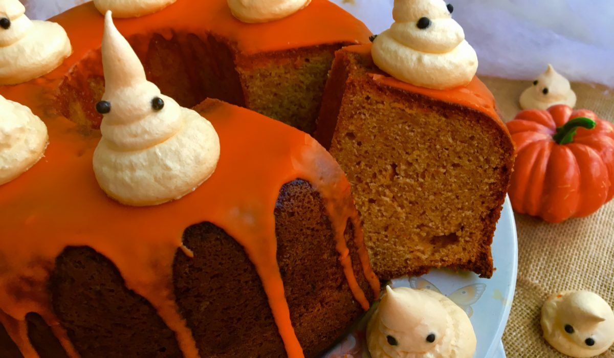 Bundt Cake de calabaza