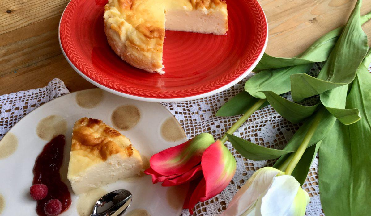 Tarta de queso la viña sin lactosa