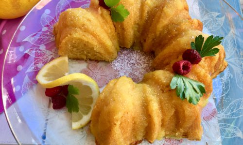 Bundt cake de Limón y buttermilk