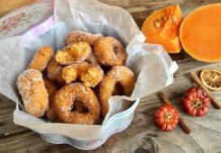 Rosquillas fritas de calabaza