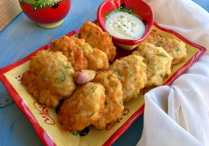 Tortillitas de langostinos 🍤